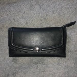 Authentic black Coach wallet